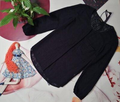 Брендовая рубашка Massimo Dutti, 100% вискоза, размер 12/40 или L