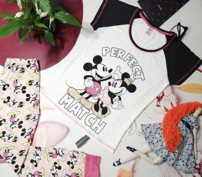 Пижама Disney, 100% хлопок, размер 10/12 или M/L