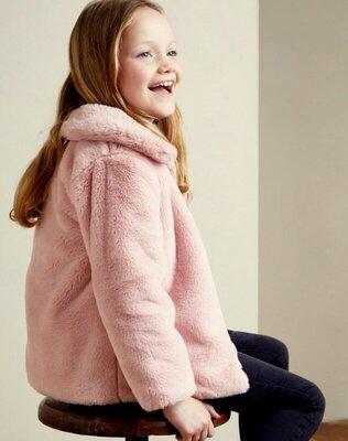 Стильная курточка из искуственного меха от dunnes stores на 3-4,4-5,7-8лет, англия