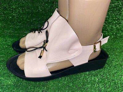 Продано: Распродажа Мягкие кожаные босоножки, размер 37,Длина по стельке 23.5 см