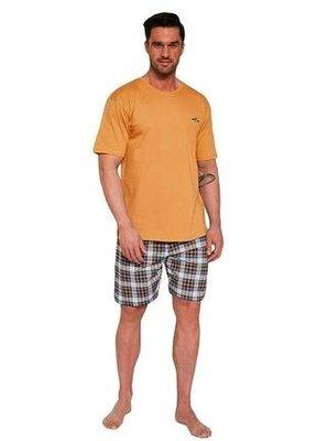 Мужской домашний хлопковый комплект оранжевого цвета cornette 326/111 mark
