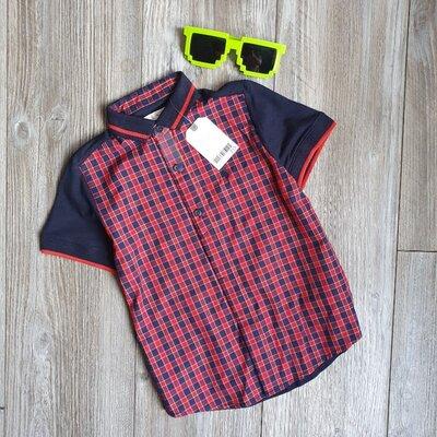 Рубашка стильная новая Next 4-5л Одежда новая и б/у для всей семьи SALE