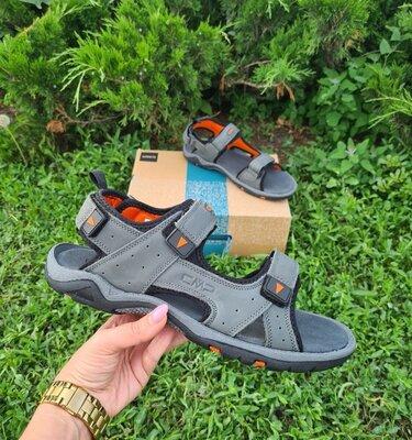Мужские сандалии CMP Almaak Hiking Sandal оригинал. Натуральная кожа. 40-44