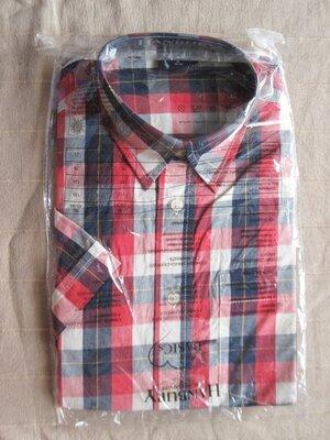 Hanbury M 39/40 рубашка мужская натуральная