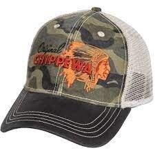Бейсболка кепка chippewa 3d embroidered