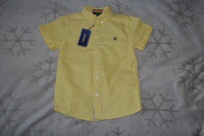 новая рубашка Maine 4-5 лет рост 110 Англия