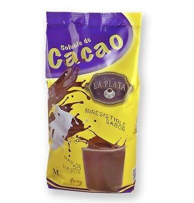 Какао растворимое La Plata Soluble Cacao Irresistible Sabor без глютена 1 кг