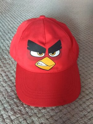 Продано: Красная детская бейсболка кепка Engry birds для подростков