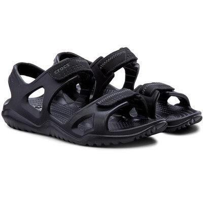 Crocs Крокс Мужские босоножки сандалии черные Men´s Swiftwater River Sandal Black