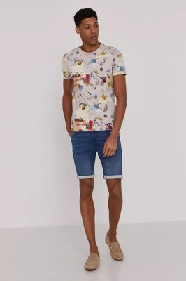 S.Oliver Denims 1969 Мужские шорты джинсовые трикотажные мягкие стретч L M