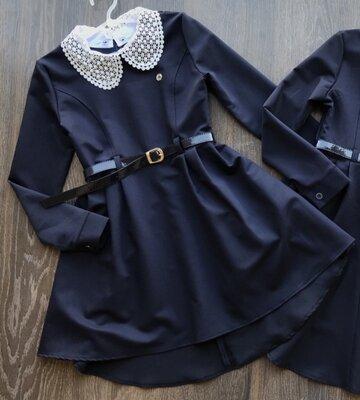 Стильное платье для девочки. Школьное платье. Сукня, плаття для школи