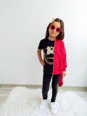 Акция Разные цвета Костюм 3-ка на девочку на 5 лет, спортивный костюм на девочку