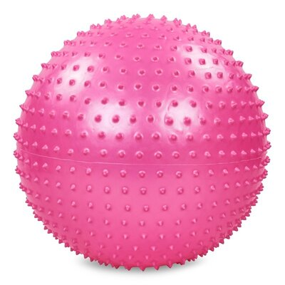 Мяч для фитнеса фитбол массажный с насосом Zel 003-22 диаметр 55см