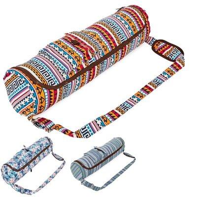 Сумка для йога коврика чехол для фитнес коврика DoYourYoga 8362 размер 72х17см
