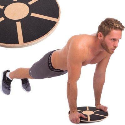 Диск балансировочный Wooden Balance Board 0912 диаметр 39см
