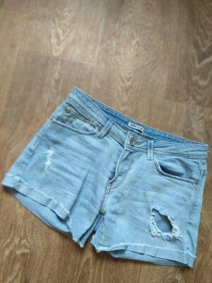шорты джинсовые тонкие размер S