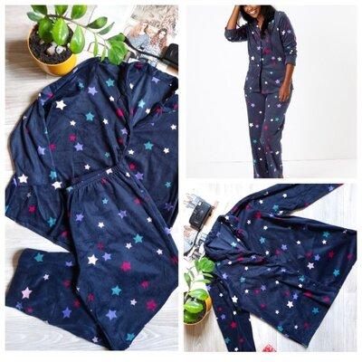 Продано: M&S шикарная флисовая пижама р 20-22 сток