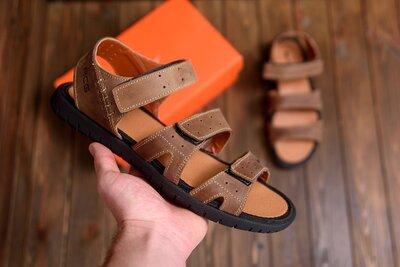 Продано: Мужские кожаные сандалии Nike ACG Olive