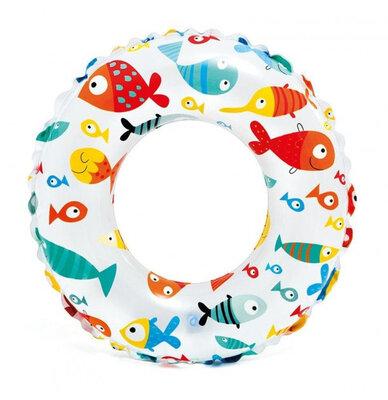 Надувной круг Intex 59230,круг для купания 51 см 3-6 лет