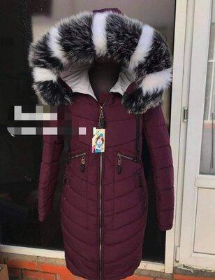 Куртка парка пальто зимнее разные цвета овчина