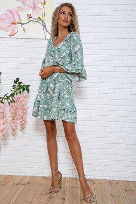 Продано: Красивое летнее платье 44-50 рр, цвета