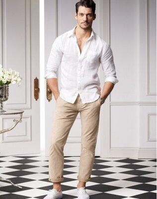 DOLCE & GABBANA 100 оригинал - Шикарные брендовые светлые джинсы S - M