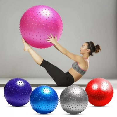 Мяч фитбол для фитнеса с шипами фитнес мяч 55 см 65 см