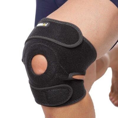 Наколенник ортез коленного сустава с эластичными ребками жесткости Mute 9015 регулируемый размер