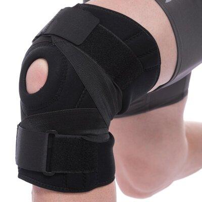 Наколенник ортез коленного сустава с эластичными ребками жесткости Mute 9052 регулируемый размер