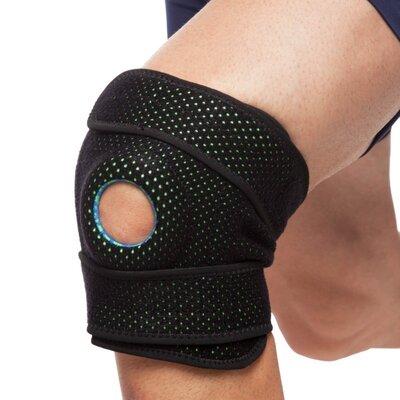 Наколенник ортез коленного сустава с эластичными ребками жесткости Mute 9069 регулируемый размер