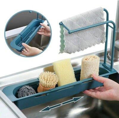 Органайзер для кухонной раковины, подставка для мочалок на кухню
