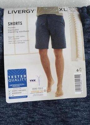 Отличные мужские шорты Livergy Трикотажные М,л, Хл