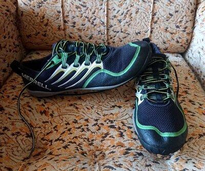 Кроссовки мокасины Merrell Trail Running Shoes Palm Leaf Green, 30 см