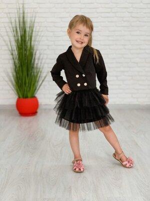 Распродажа. Шикарное школьное платье для девочек. Плаття, сукня для школи Нарядное платье. Два цвета