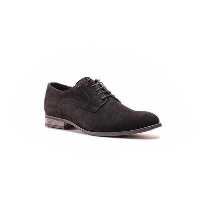 Замшеві туфлі дербі-стильне та якісне взуття
