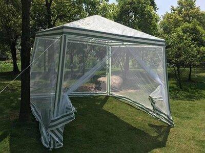 Садовый павильон из водонепроницаемого полиэтилена