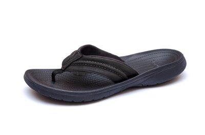 Кожаные вьетнамки Crocs. Стелька 26 см