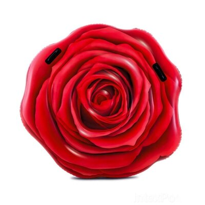 Плотик надувной Intex 58783 Роза размер 137х132см