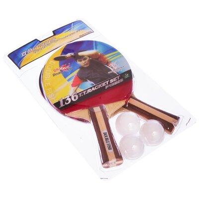 Набор для настольного тенниса Double Fish MT-136 2 ракетки 3 мяча