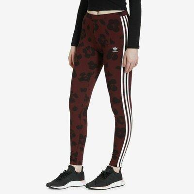 Adidas лосины леггинсы адидас трикотажные для спорта бордовые