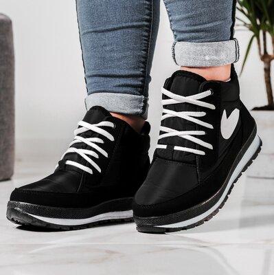 Ботинки женские кроссовки на меху утепленные Бт-6Н