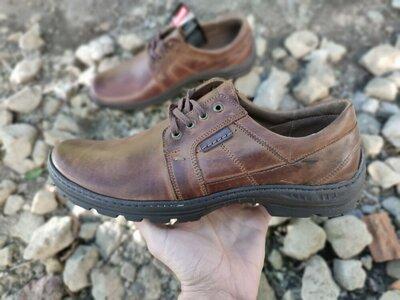 Шкіряні чоловічі туфлі 46