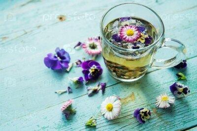 Чай ромашковый с цветами. Вес 25 грамм