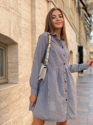 Платье-Рубашка коттон