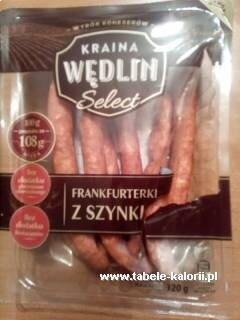 Сосиски с ветчиной Kraina Wędlin 320 грамм