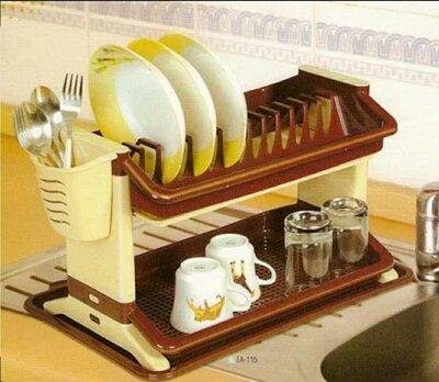 Сушка для посуды двухярусная