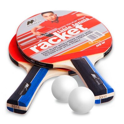 Набор для настольного тенниса MK 3311 2 ракетки 2 мяча