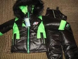 Продано: Куртка и комбинезон теплий