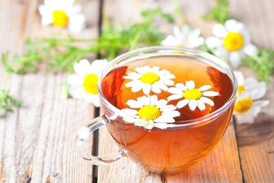 Чай мятный с ромашкой. Вес 25 грамм
