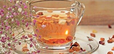 Чай мятный с лепестками пиона. Вес 25 грамм